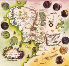 A Map of Middle-earth