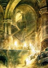 They buried Thorin deep beneath the Mountain,...