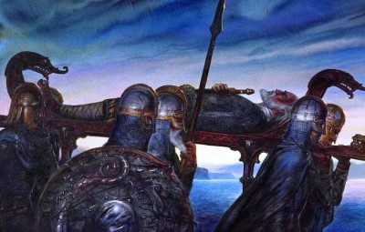 Beowulf's Funeral
