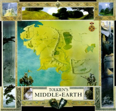 Middle-earth Illustrated Map