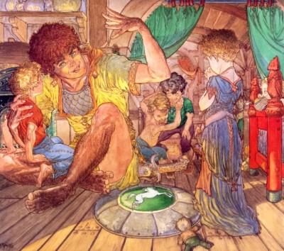 Meriadoc the Magnificent & the Children of Samwise Hamfast